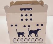 Cardboard Pet Carrier